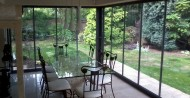 Double glazed Frameless Glass patio doors