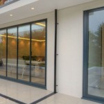 UltraSlim aluminium-framed patio doors