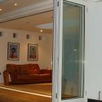 Classic Slimline bifolding doors - open