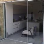 part-open UltraSlim doors