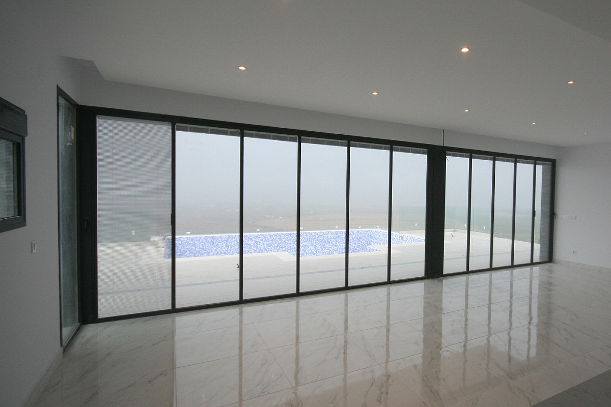 UltraSlim Doors in Designer Villa
