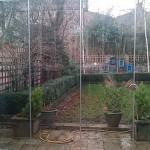 frameless glass enclosure