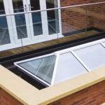 lantern roof + glass balustrade