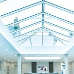 glass lantern roof