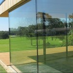 Sightline glass doors