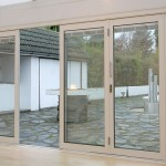 Classic Bi-folding Doors with integral blinds option
