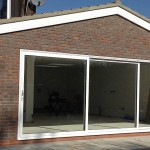wide sliding doors