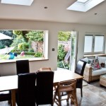 bi folding windows, fully retractable for wider uninterrupted views