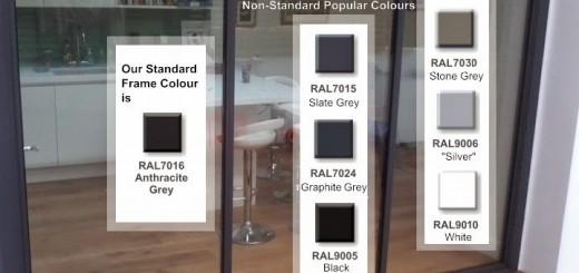 aluminium frame colours