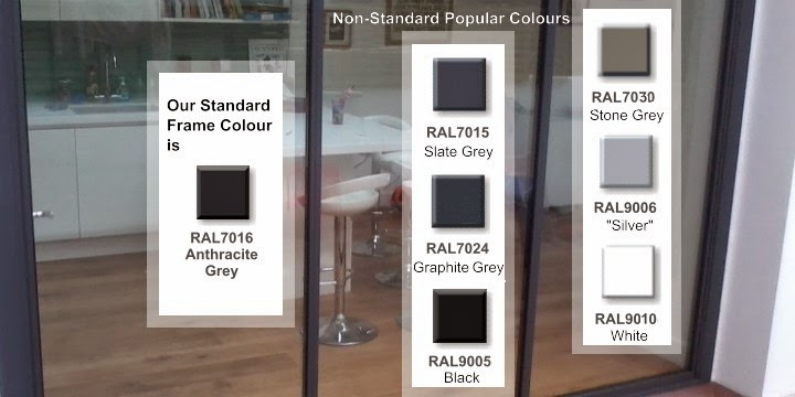 aluminium frame colours