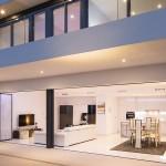 UltraSlim doors on Luxury villa