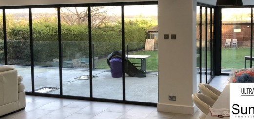 panoramic glass doors