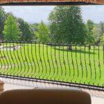 retractable balcony doors - open