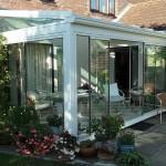 DG-Frameless conservatory doors