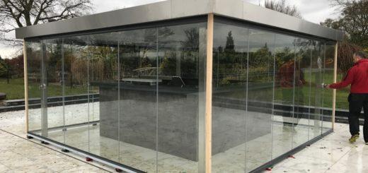 SunSeeker External Frameless Glass Doors