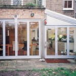 Bifolding doors - both sets made to measure