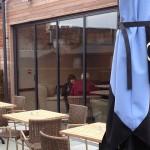 UltraSlim Doors, Caffe Nero installation