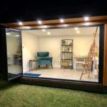 UltraSlim doors - open