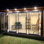 UltraSlim doors - spaced open
