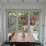Fully retractable doors for space and light