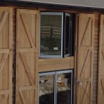Classic Bifolding Doors & windows on large barn