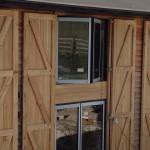 Classic Bifolding Doors & windows on large barn