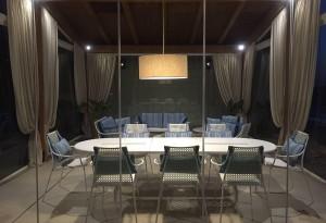 Outbuilding with SunSeeker Frameless Glass Doors