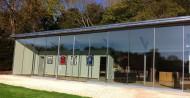 large leaf Sightline doors