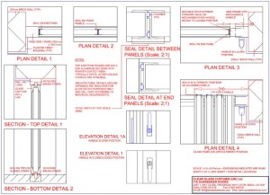 Technical detail - DG-Frameless Glass Doors