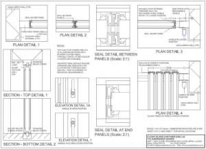 Technical detail - Ultraslim Slide-Pivot Door