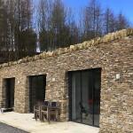 3 sets of UltraSlim in York stone building