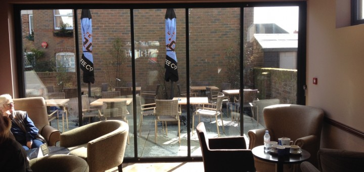 Caffe Nero: UltraSlim from inside