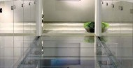 glass barriers / glass floor
