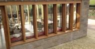 glazed panels