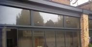 aluminium framed double glazed panels