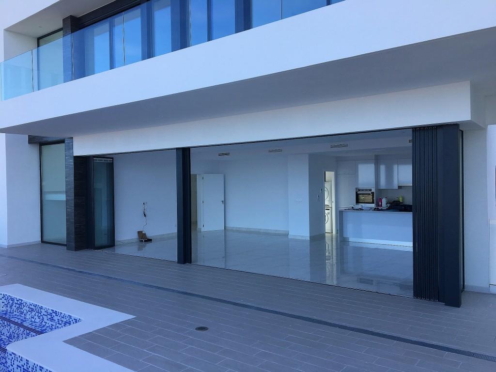 SunSeeker UltraSlim Doors - fully open