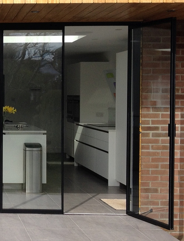 Sale Pair Of Contemporary Glass French Doors