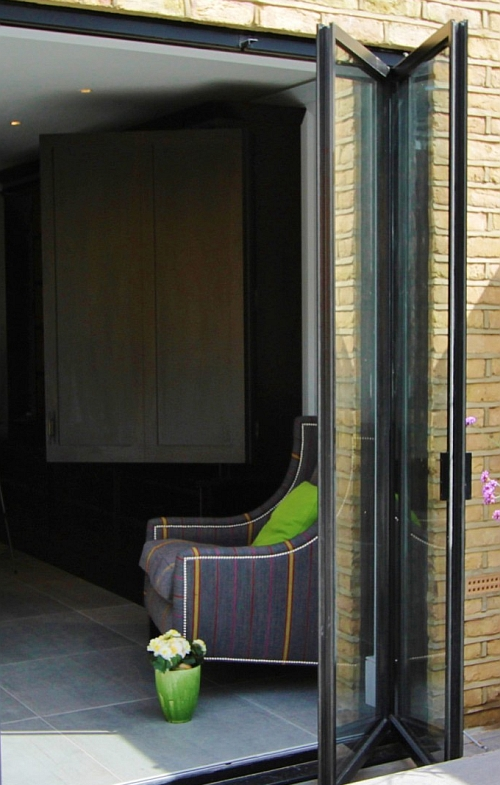 SALE Pair Of Contemporary Glass 39 French 39 Doors