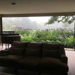 panoramic view through doors
