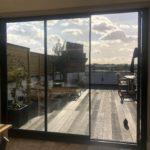 UltraSlim doors onto a London roof terrace - SunSeeker Doors
